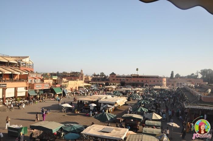 Place Jemaa El Fna - Conseils pour visiter Marrakech et ses alentours
