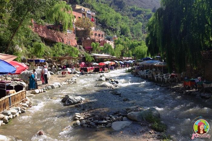 Vallée de l'Ourika restaurants- Conseils pour visiter Marrakech et ses alentours