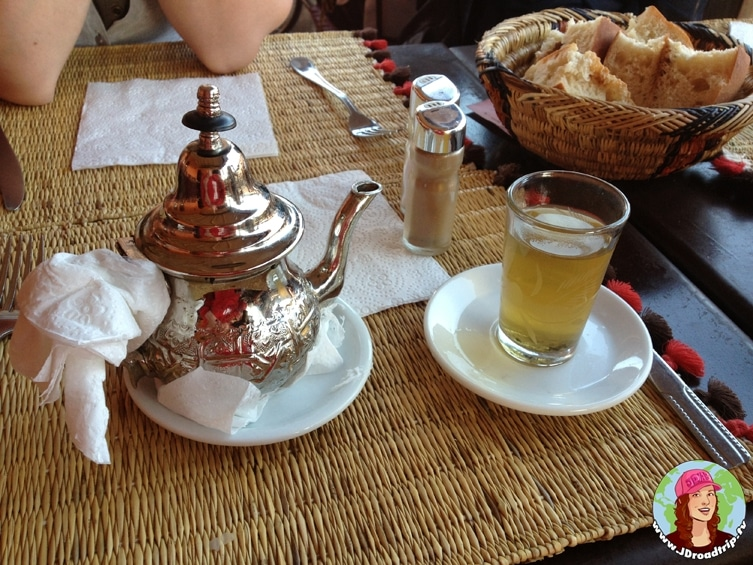 Thé à la menthe - Conseils pour visiter Marrakech et ses alentours