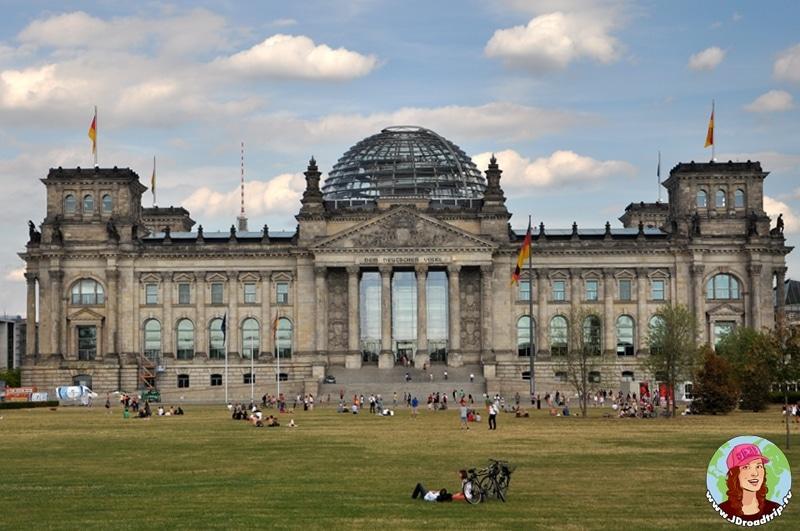 visiter Berlin en 3 jours - Reichstag