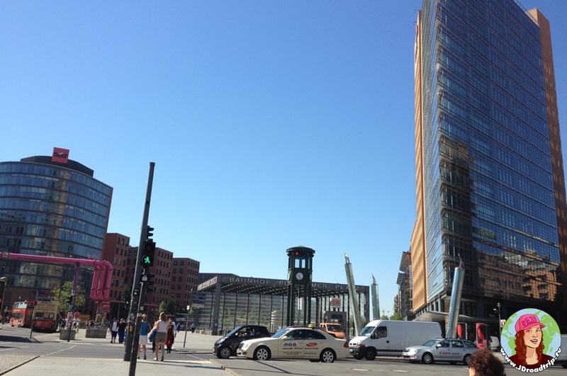 visiter Berlin en 3 jours - Podsdamer Platz