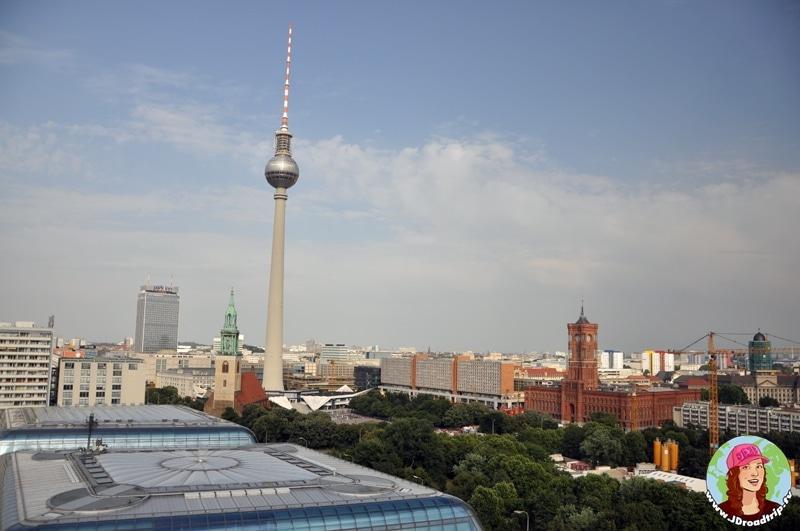 visiter Berlin en 3 jours - Tour de la télévision