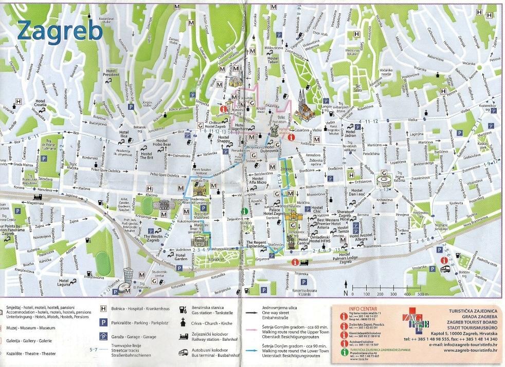 Plan pour Visiter Zagreb en 3 jours