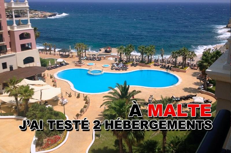 Découvrir 2 hébergements à Malte