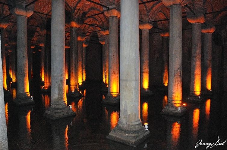 Istanbul top 5 Palais Englouti