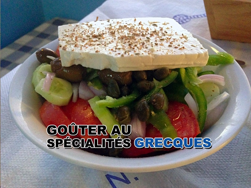 Grèce – Les spécialités grecques