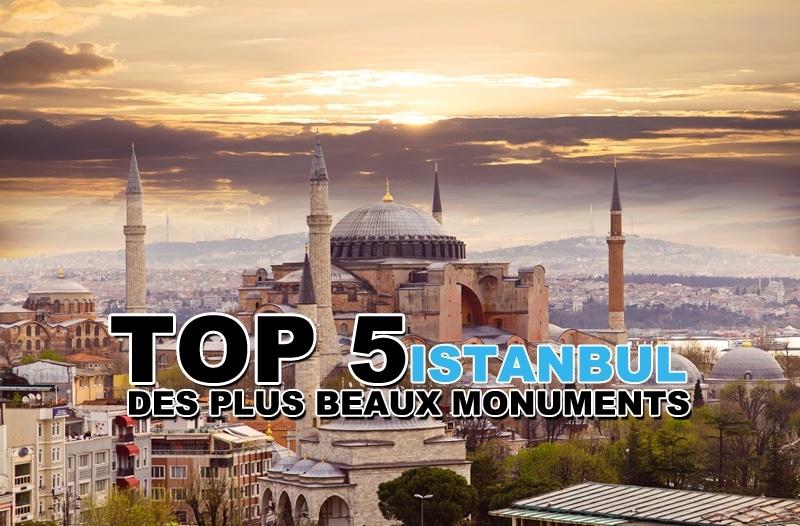 Top 5 des plus beaux monuments à Istanbul