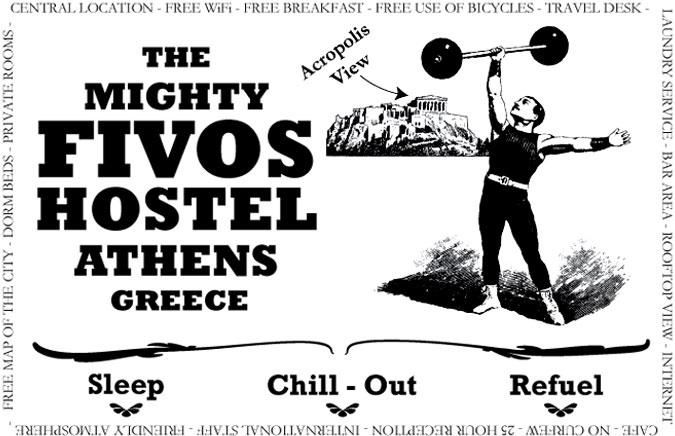 Fivos Hostel à Athènes