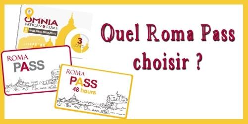 Tout savoir sur le Roma Pass