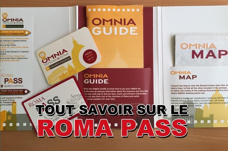 Toutes les informations sur le Roma Pass