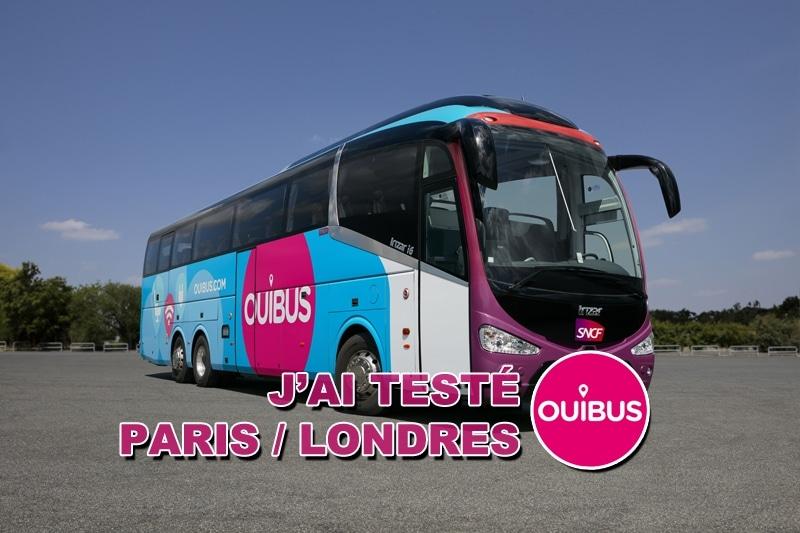Voyager en bus : j'ai testé Paris Londres avec Ouibus