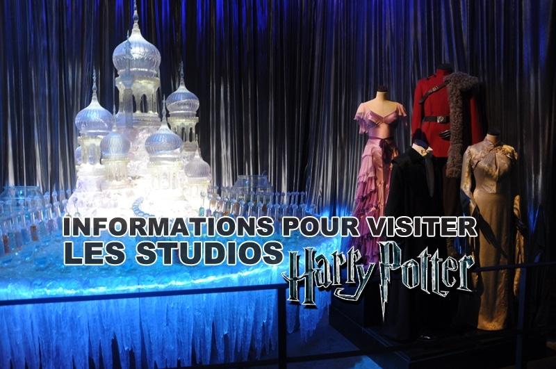 Informations pour visiter les studios Harry Potter