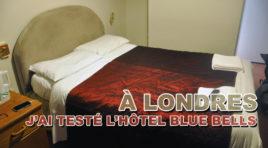 L'hôtel Bluebells dans le quartier de Notting Hill à Londres