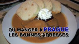 Les bonnes adresses où manger à Prague et Kutná Hora