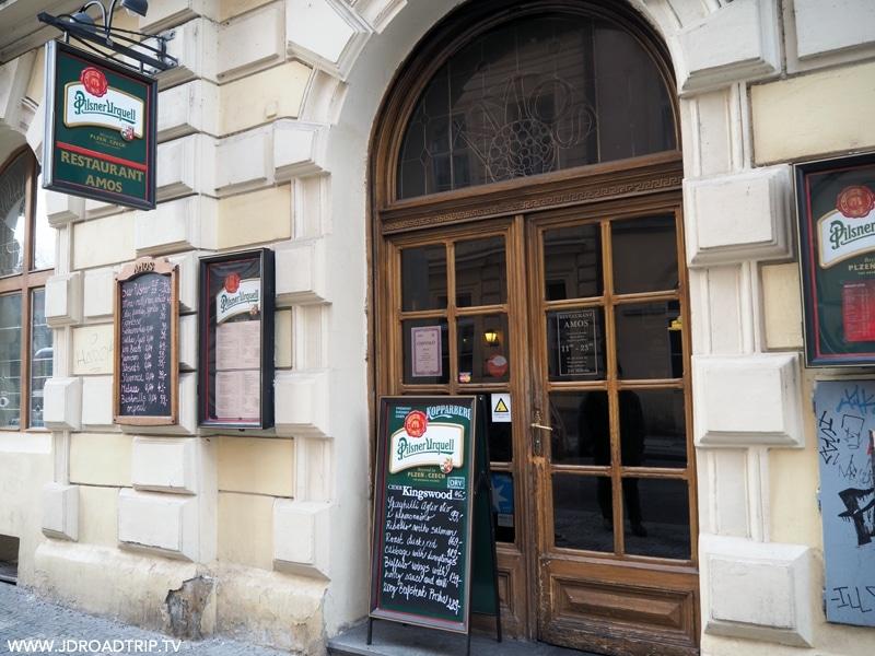 Bonnes adresses où manger à Prague - Restaurant Amos