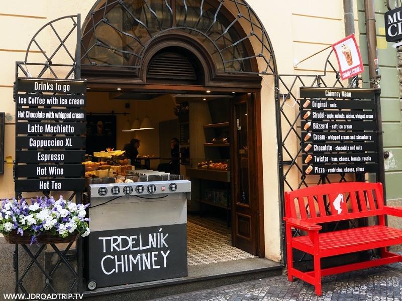 Bonnes adresses où manger à Prague - Trdelnik Good Food