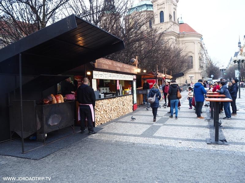 Visiter Prague en 4 jours - place de la vieille ville