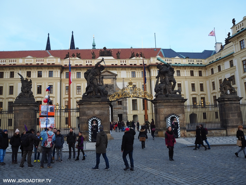 Visiter Prague en 4 jours - Château de Prague