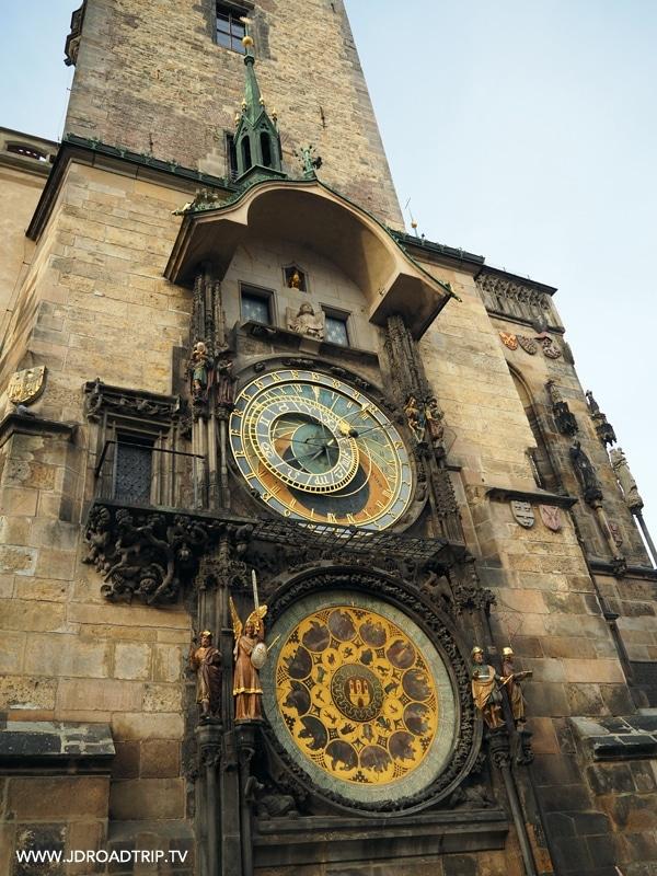 Visiter Prague en 4 jours - Horloge astronomique
