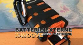 La batterie externe X-moove pour smartphone