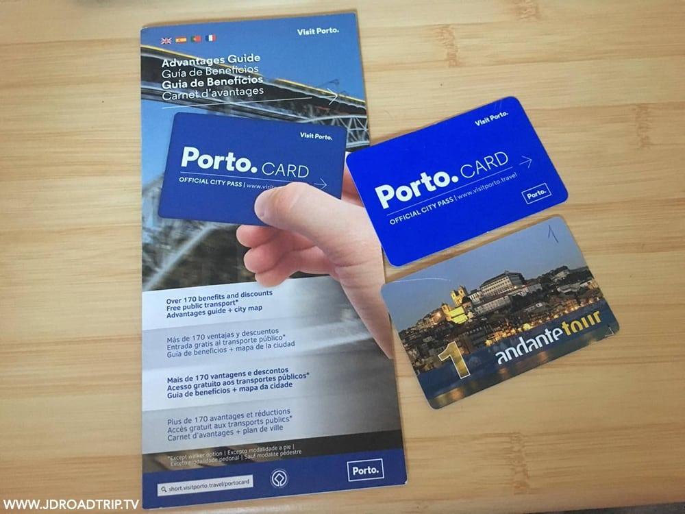 informations sur la Porto Card