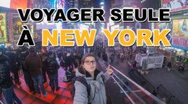 Gentillesse, Sécurité & Respect, Voyager seule à New York
