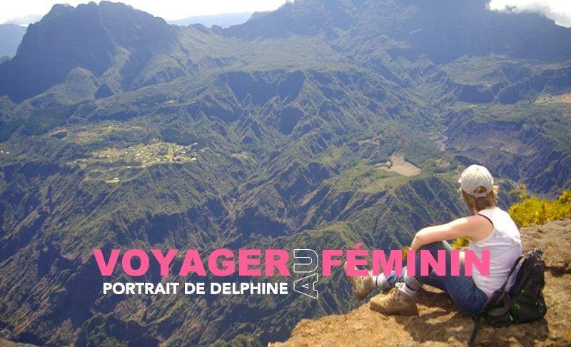 Portrait de Delphine, voyager avec une maladie c'est possible !