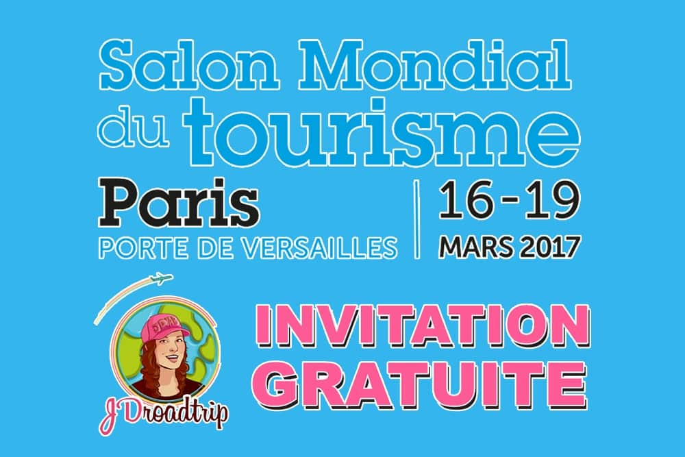 Invitations gratuites salon du mondial du tourisme paris for Salon mondial du tourisme paris