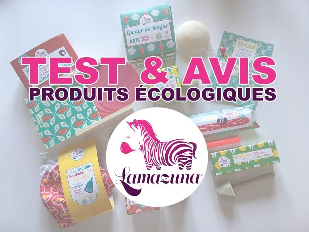 Test & Avis sur les produits écologiques Lamazuna