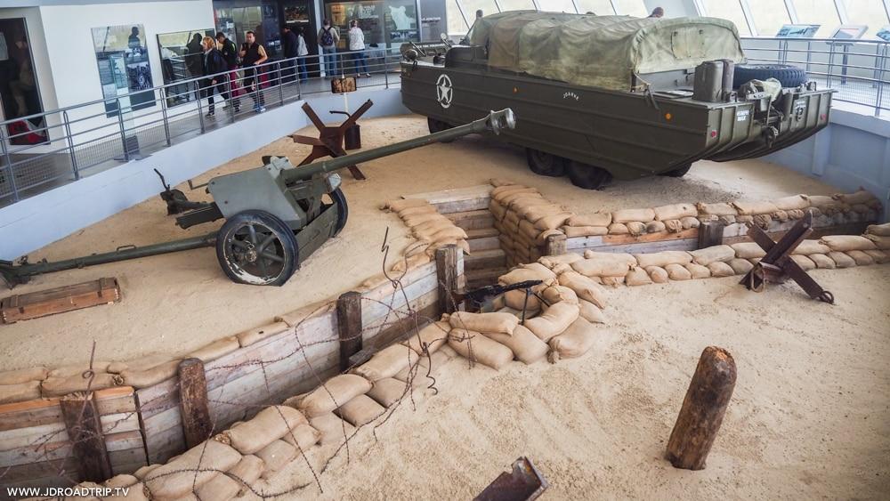 Visiter les plages du débarquement - Musée Utah Beach