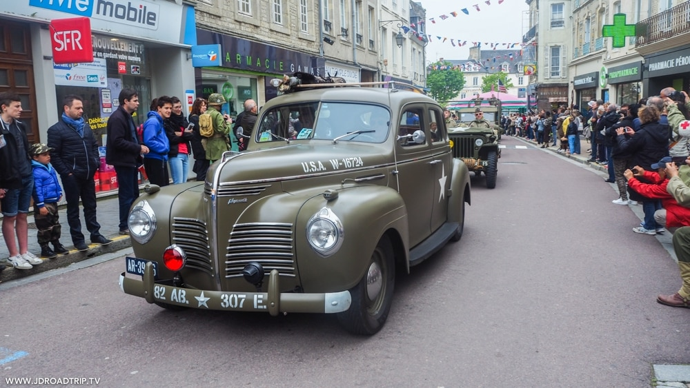 D-Day Festival Normandy - Défilé Carentan
