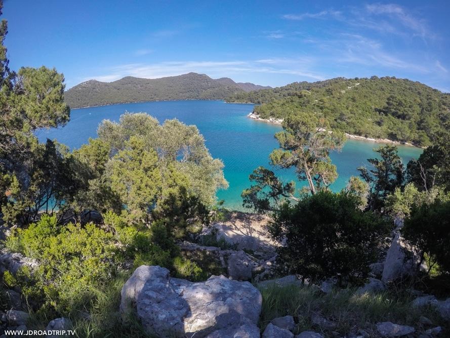 Visiter les îles entre Dubrovnik et Split - Mljet