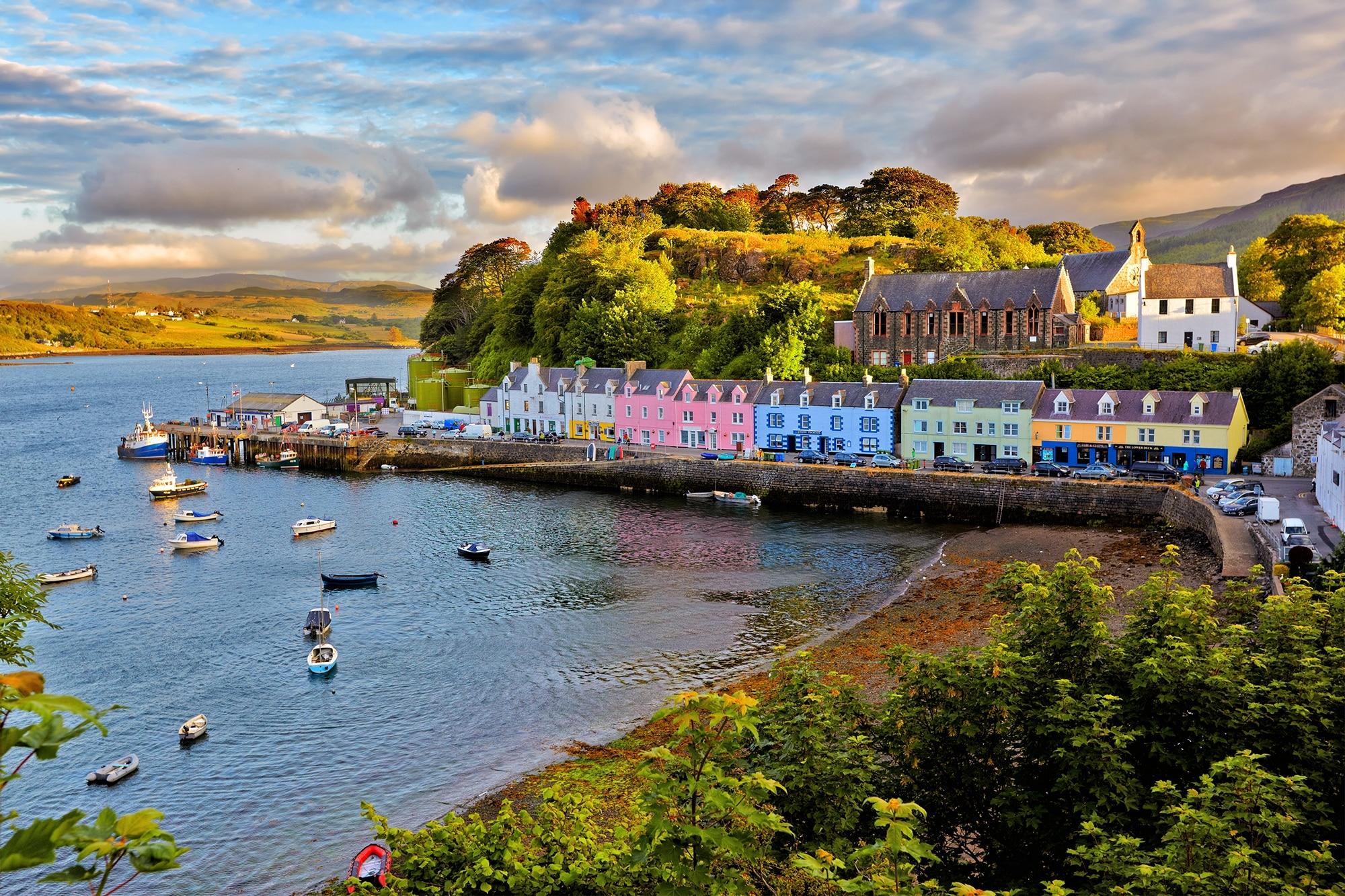 Lieux à visiter en Écosse - L'île de Skye