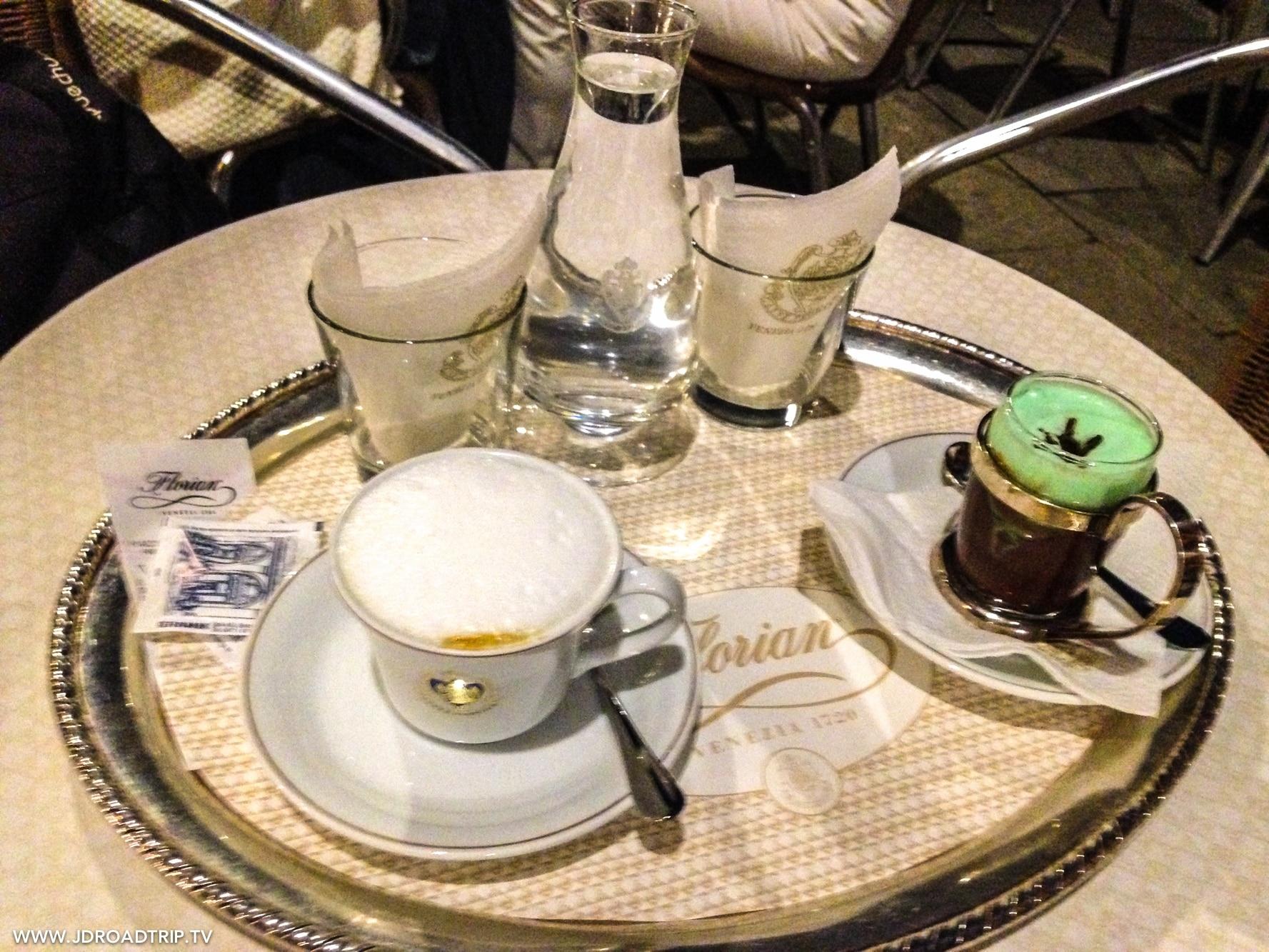 Visiter Venise en 3 jours - Café Florian