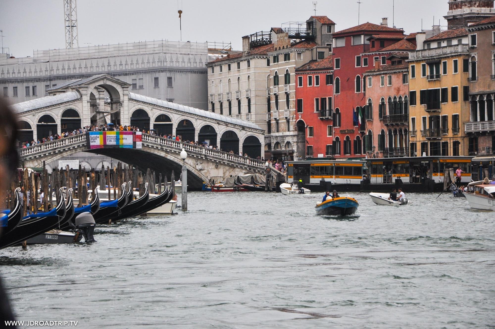 Visiter Venise en 3 jours - Pont Rialto