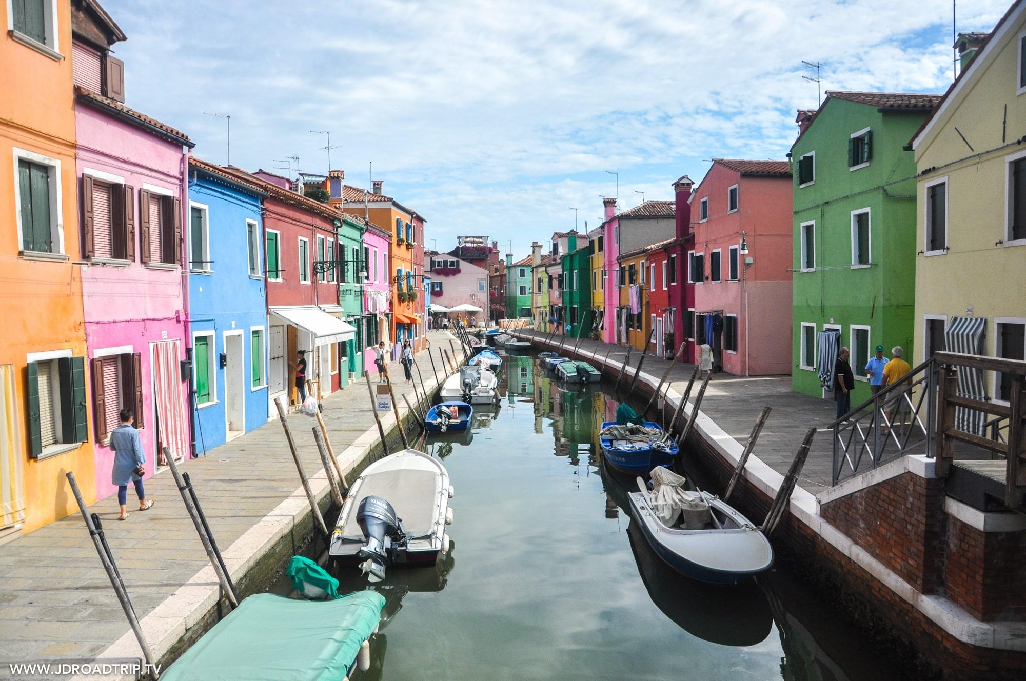 Visiter Venise en 3 jours - Burano