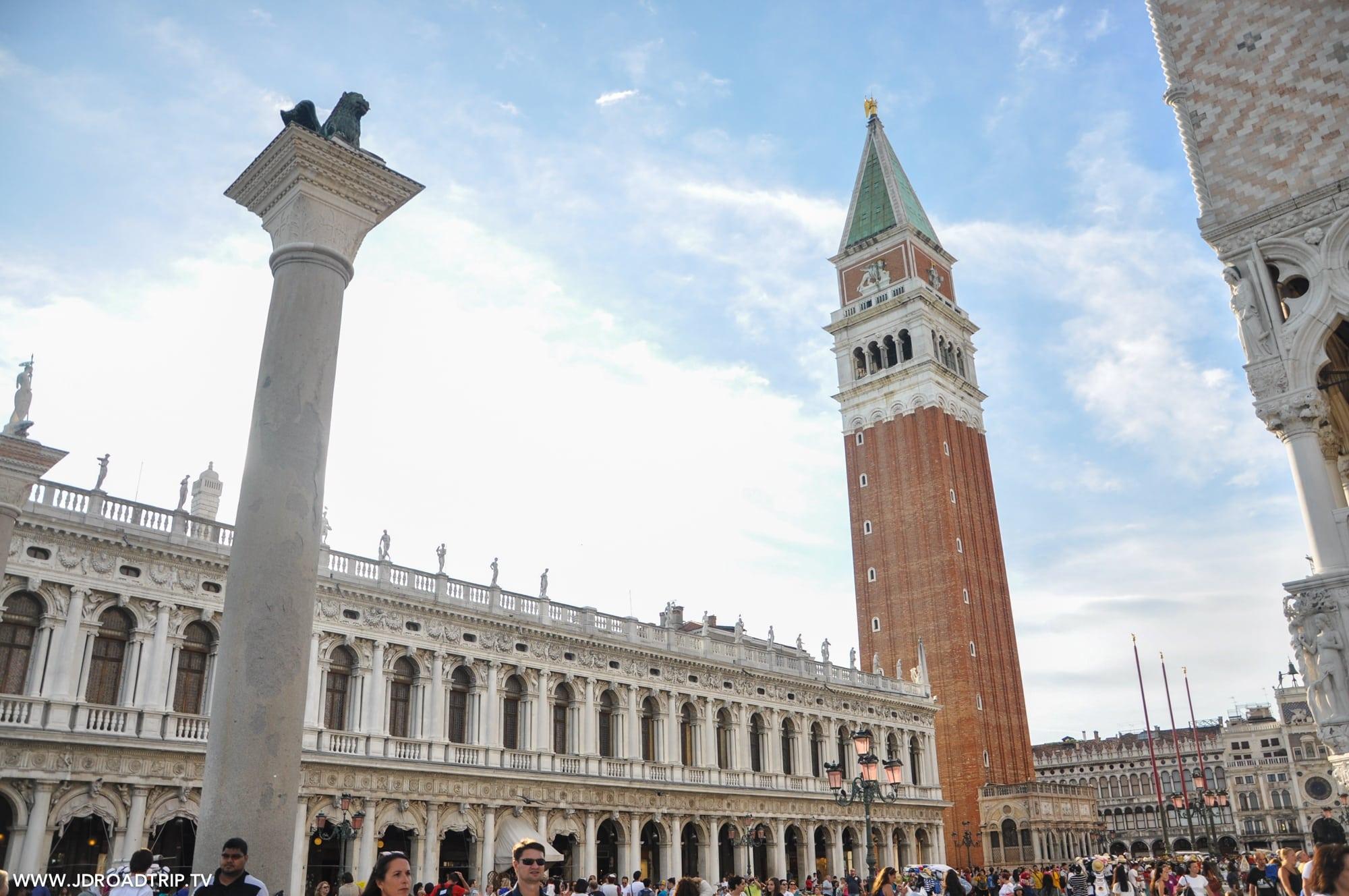Visiter Venise en 3 jours - Campanile