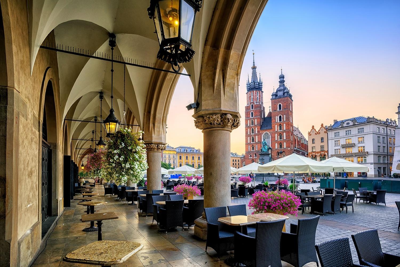 Billets d'avions pas chers en septembre 2017 - Cracovie
