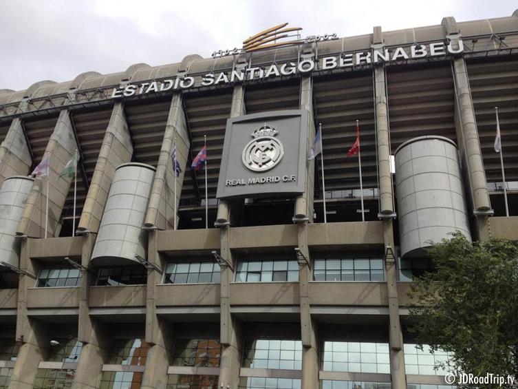 Madrid - Stade Santiago Bernabéu