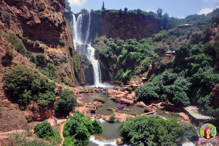 Les cascades d'Ouzoud - Conseils pour visiter Marrakech et ses alentours
