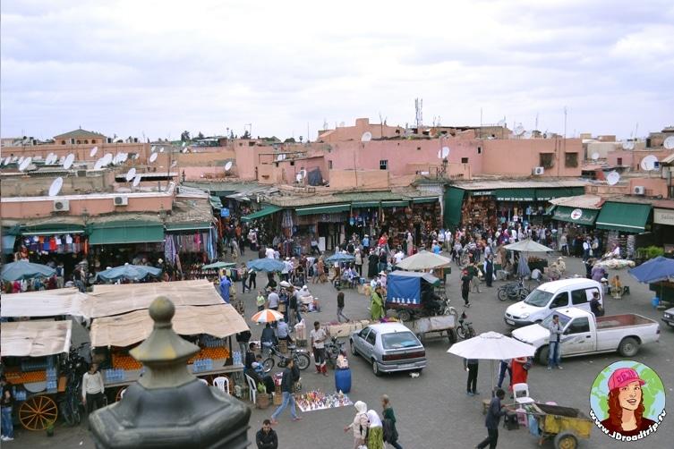 Visiter la place Jemaa El Fna à Marrakech