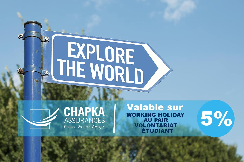 Code promo Chapka Assurance santé : 5% de réduction