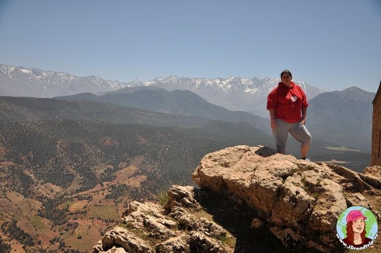 Excursion dans le Haut Atlas - Vue Toubkal