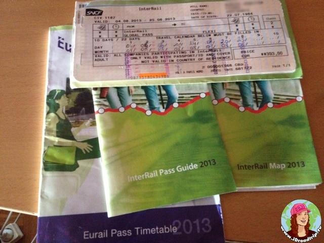 Europe avec Interrail