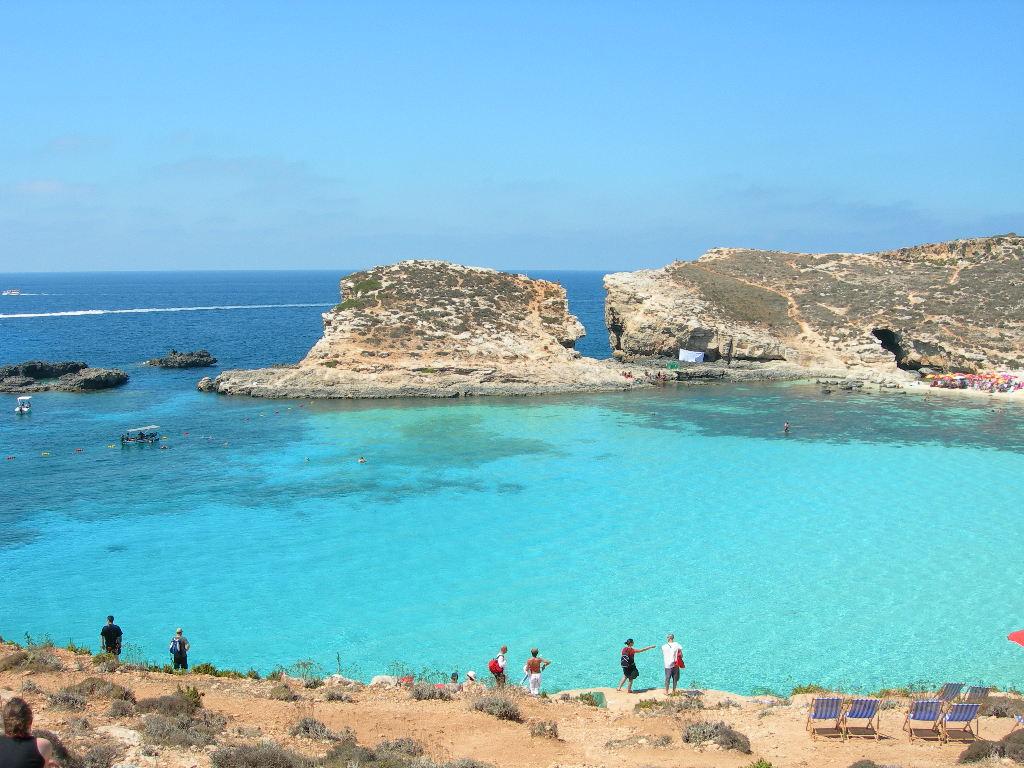 Malte Top 5 - blue lagoon comino