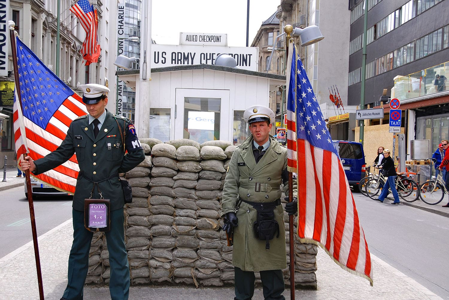 Visiter Berlin en 3 jours - Check Point Charlie