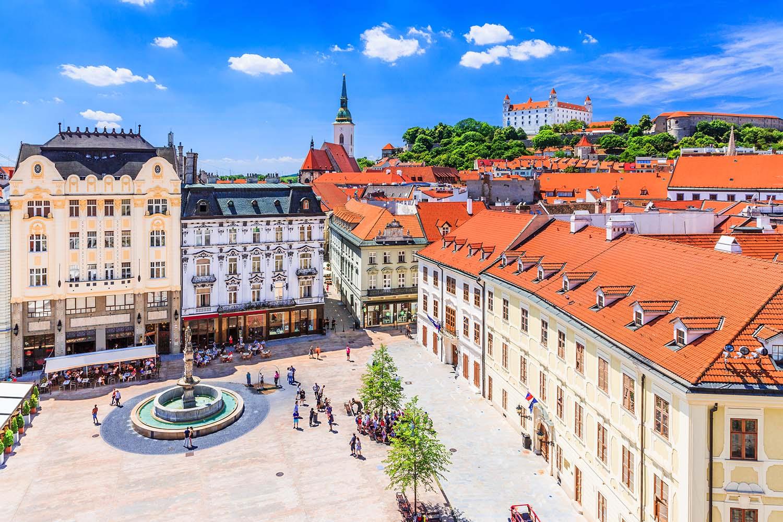 Visiter Bratislava - Place principale