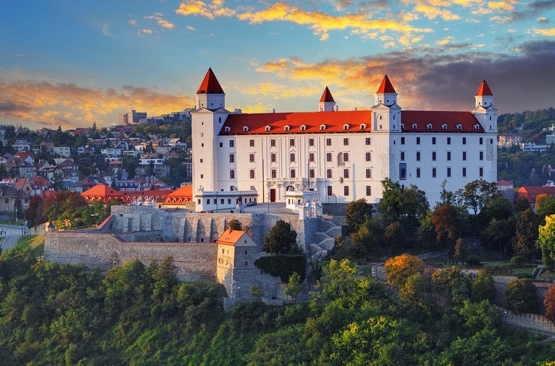 Visiter Bratislava - Château