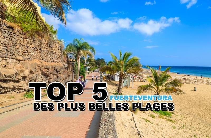 Top 5 des plus belles plages de Fuerteventura