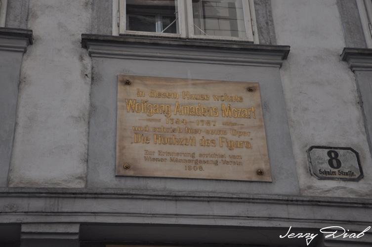 Visiter Vienne en 3 jours - Maison de Mozart